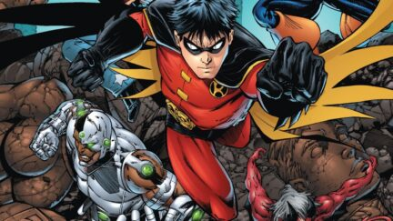 tim drake is our first open bi robin now we are waiting on the rest