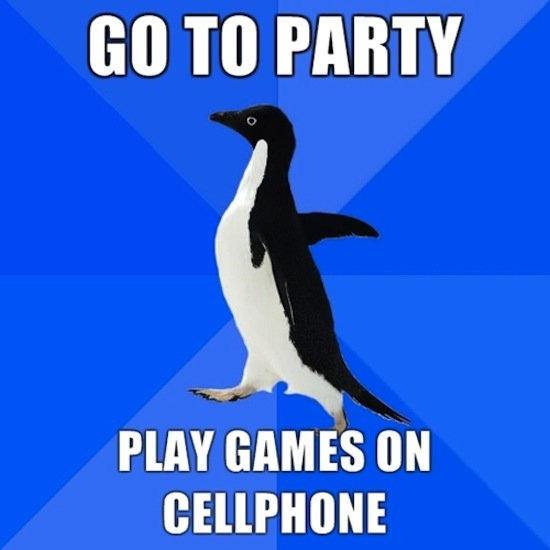 Cellphone Party
